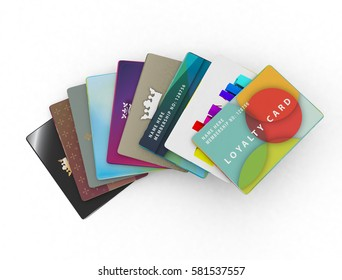 modern and traditional design son white background for loyalty scheme