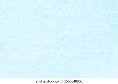 Moderne türkisfarbene Kalksteinstruktur in blauer hellnaher heller Tapete Konzept für flachen Weihnachtshintergrund, Rückbeton, oberer Boden, Granitmuster aus Tapete, farblose Oberfläche