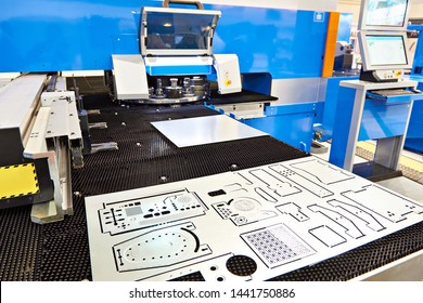 Modern turret punch press sheet metal