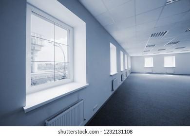 modern under construction new office