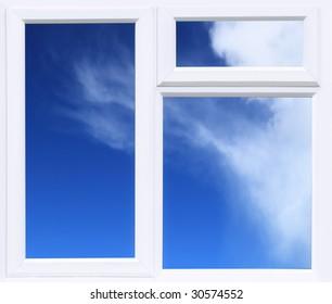 Modern UPVC double glazed Window Background