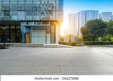 Modern urban architecture in high tech park, Chongqing, China