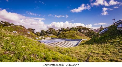 Modern Vegetated Green Roof