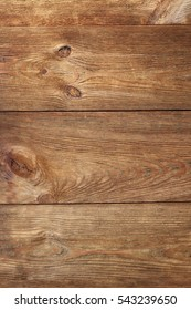 Modern Vintage Barn Wood Horizontal Plank Vertical Wooden Background. Brown Barnwood Interior Design Element Texture. Fence Wall Rustic Grungy Board Surface. Retro Timber Blank Billboard Or Signboard