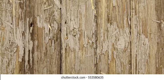 Modern Vintage Barn Wood Vertical Plank Horizontal Wooden Texture. Grunge Brown Barnwood Rustic Design Element Background. Aged Wooden Wall Panel Surface. Old Timber Blank Signboard Billboard Banner