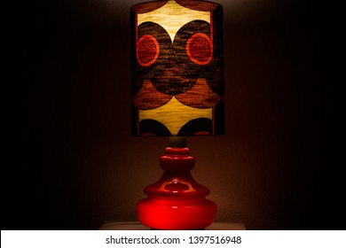 modern vintage midcentury design lamp spaceage front side view HIGH RESOLUTION