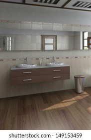 Modern wash basin / sink