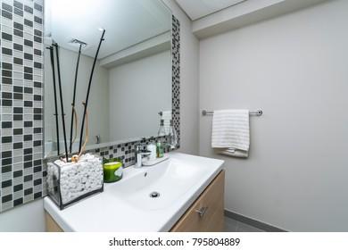 Modern washing room