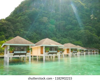 Modern Water Cottages Palawan Philippines