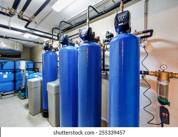 modern water treatment system for industrial boiler
