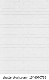 Modern white brick wall texture for background, Construction background or backdrop brick wall.