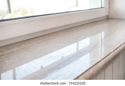 Captivating Modern Window Sill, Closeup