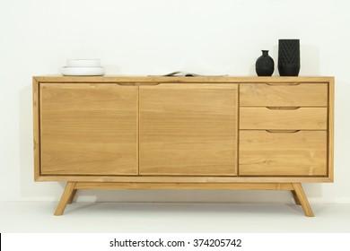 Modern wood buffet