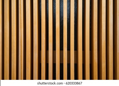 Modern Wood Wall