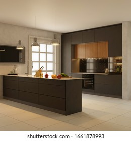 Modern Kitchen Design High Res Stock Images Shutterstock