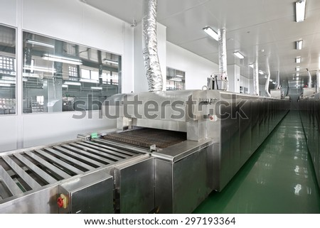 Modernization Food Processing Plants Production Lines Baking Stock
