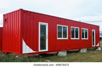 Modify old steel container to house