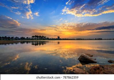 Modon Lake -Dammam, Saudi Arabia.