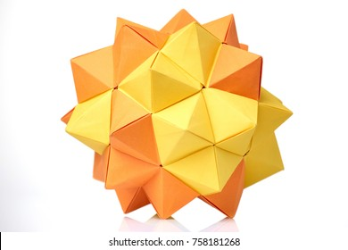 Modular origami – Polypompholyx | 280x390