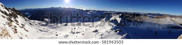 Moelltaler Gletscher, Austria.