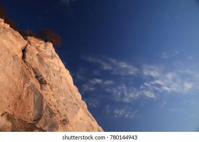 Moens Klint, high limestone cliff at the east coast of Denmark