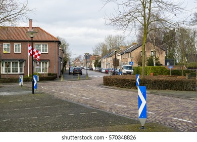 MOERDIJK, THE NETHERLANDS – JANUARY 29: View of Moerdijk, a small village in North Brabant on January 29, 2017