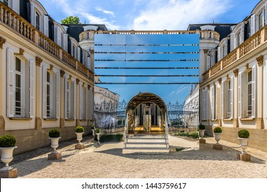 Moet & Chandon House on the Avenue de Champagne in Epernay (UNESCO World Heritage)