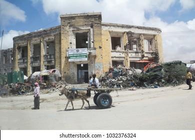MOGADISHU,SOMALIA-Oct, 2014 :View of Mogadishu, Mogadishu is the Capital city of Somalia