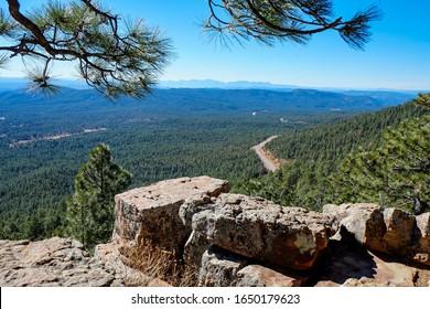 Mogollon Rim, Arizona, Rim Overlook