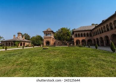 Mogosoaia Palace in Bucharest, Romania
