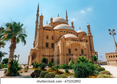 The Mohammad Ali Mosque at Cairo, Egypt.