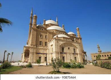 Mohammed Ali Basha Mosquean, citadel of salah el din in Cairo,  Egypt
