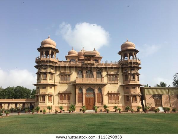 Mohatta Palace Museum Located Karachi Sindh Stock Photo