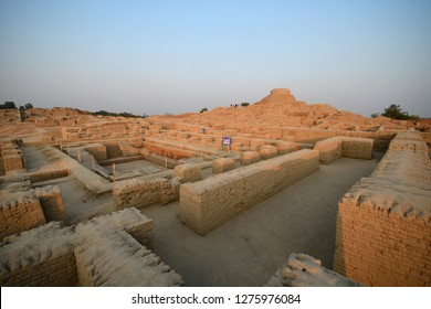 Mohenjo daro (sunset) is an archaeological site in the province of Sindh, Pakistan . One of UNESCO world heritage site .it was one of the largest settlements of the ancient Indus Valley civilization