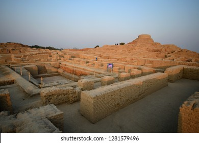 Mohenjo daro (sunset)  is an archaeological UNESCO site in the province of Sindh, Pakistan