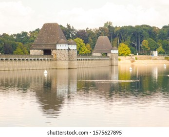 Mohnesee Dam, Germany. Made famous by the Dam busters