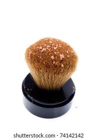 Moisturizer brush isolated on a white background...