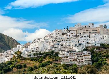 Mojacar Village Almeria Province Andalusia Spain