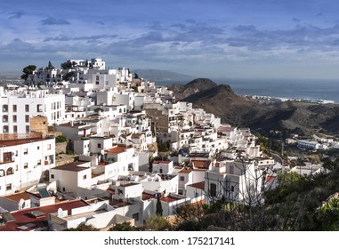 Mojacar Village Almeria Province, Andalusia, Spain