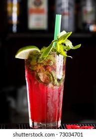 mojito in the bar