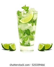 a mojito cocktail