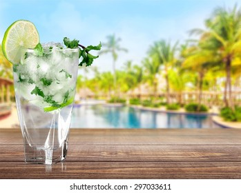 Mojito, Cocktail, Drink.