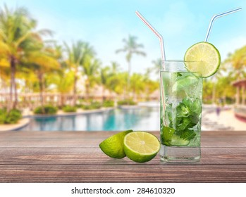 Mojito, Cocktail, Lime.