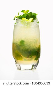 mojito is a cocktail that consists of five ingredients: white rum, sugar (traditionally sugar cane juice), lime juice, soda water, and mint. Its combination of sweetness, citrus, and herbaceous mint.