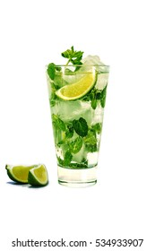 mojito isolated on white background