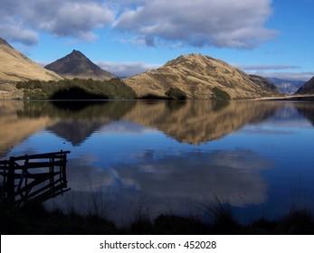 Moke Lake Queenstown New Zealand