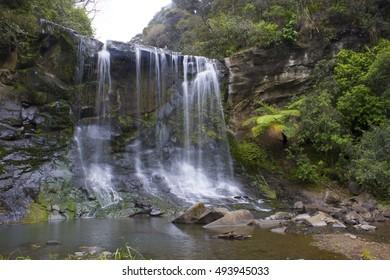 Mokoroa Waterfall New Zealand