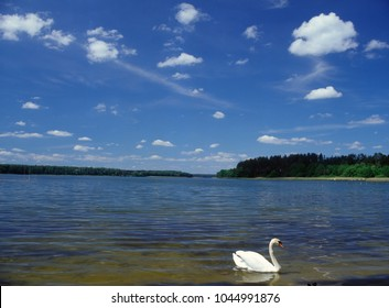Mokre lake, Masuria (Mazury), Poland