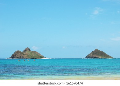 Mokulua Islands Oahu Hawaii