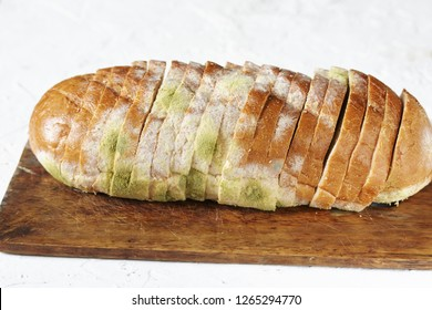 mold on bread loaf